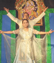 Dr. Usha Jain of Urgent Care Medical Center Performing Dance - Exercise