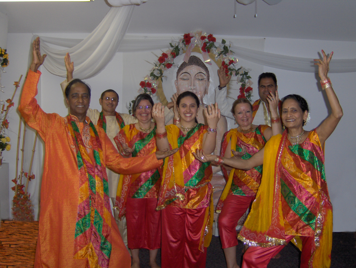Spiritual Dance  by Dr. Usha Jain and her patients